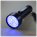 Powerful 51 LED UV flashlight