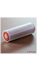 Adapter tube for 18650 battery