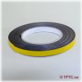 Magnetic self-adhesive tape, 10 mm wide price per dm