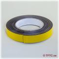 Magnetic self-adhesive tape, 20 mm wide price per dm