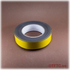 Magnetic self-adhesive tape, 30 mm wide price per dm