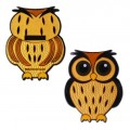 Owl geocoin - Barn owl
