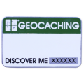 Geocaching name tag
