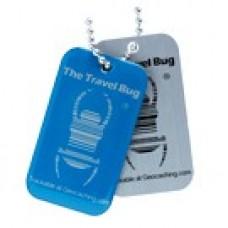 QR-Travelbug Blue