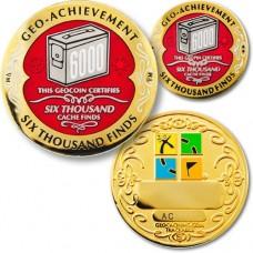 Geo-Achievement set 6 000 finds