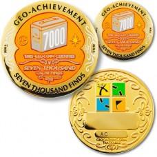 Geo-Achievement set 7 000 finds