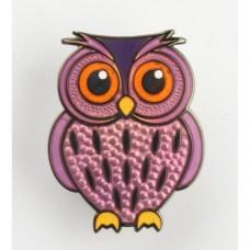 Owl micro geocoin - Pelican owl