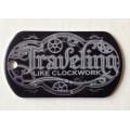 Venture tag - Clockwork traveler - Black