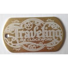 Venture tag - Clockwork traveler - Gold
