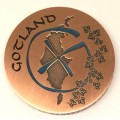 Gotland Geocoin Antique copper