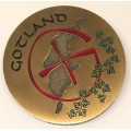 Gotland Geocoin Antique gold