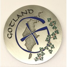 Gotland Geocoin Antique silver