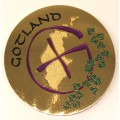 Gotland Geocoin LE polished gold