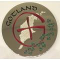 Gotland Geocoin LE polished silver