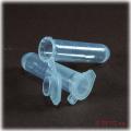 Small plastic sample tube