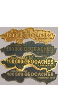 100 000 caches in Sweden, set of 4 incl XLE gold