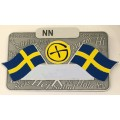 Swedish nametag