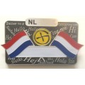 Dutch nametag - magnetic bar version