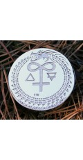 Alchemist's glass geocoin - Iris