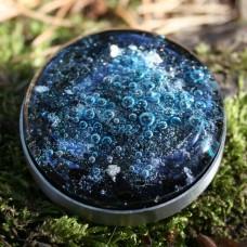 Alchemist's glass geocoin - Abyss