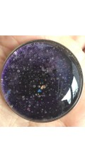 Alchemist's glass geocoin - Purple I