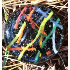 Alchemist's glass geocoin - Alien spaghetti