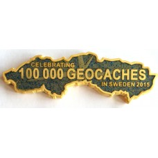 100 000 caches in Sweden, Gold + Glitter