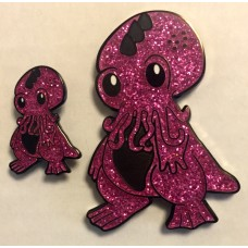 Cutethulhu geocoin - Pink devil