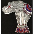 Elephant geocoin करेणुवर्य (Karenuvarya)