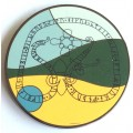 Swedish viking geocoin - A bountiful land